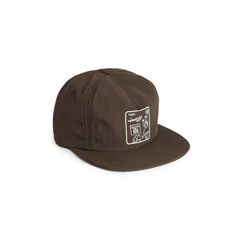 Forbidden City 5 Panel Snapback