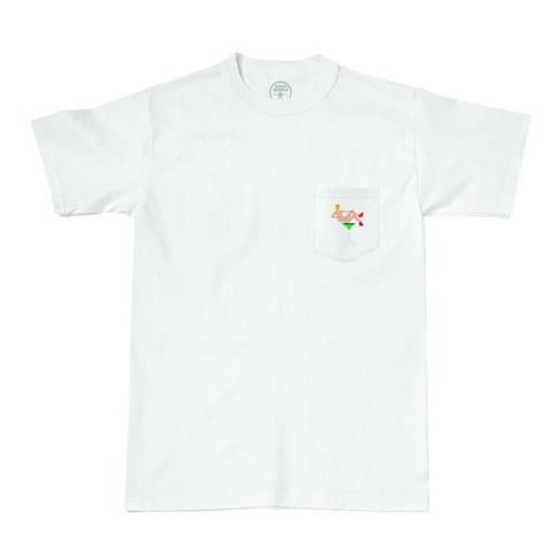 GOOD WORTH X KOVSKA MARTINI GIRL POCKET TEE