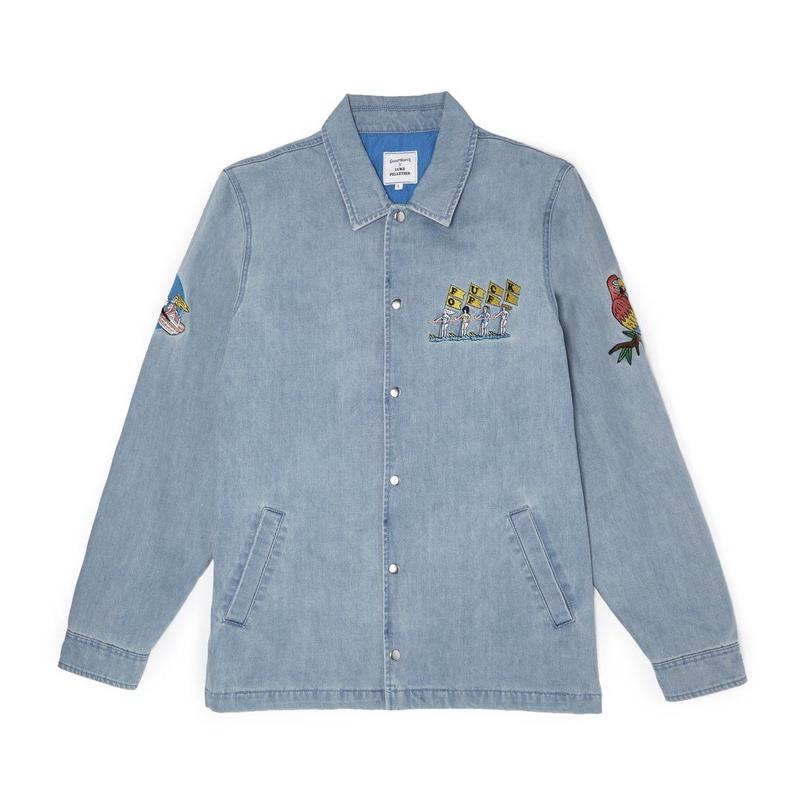 FUCK OFF JACKET - DENIM