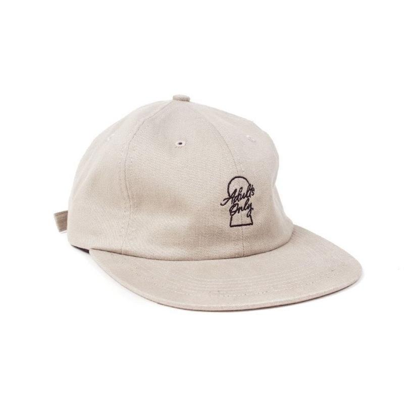ADULTS ONLY STRAPBACK -SAND