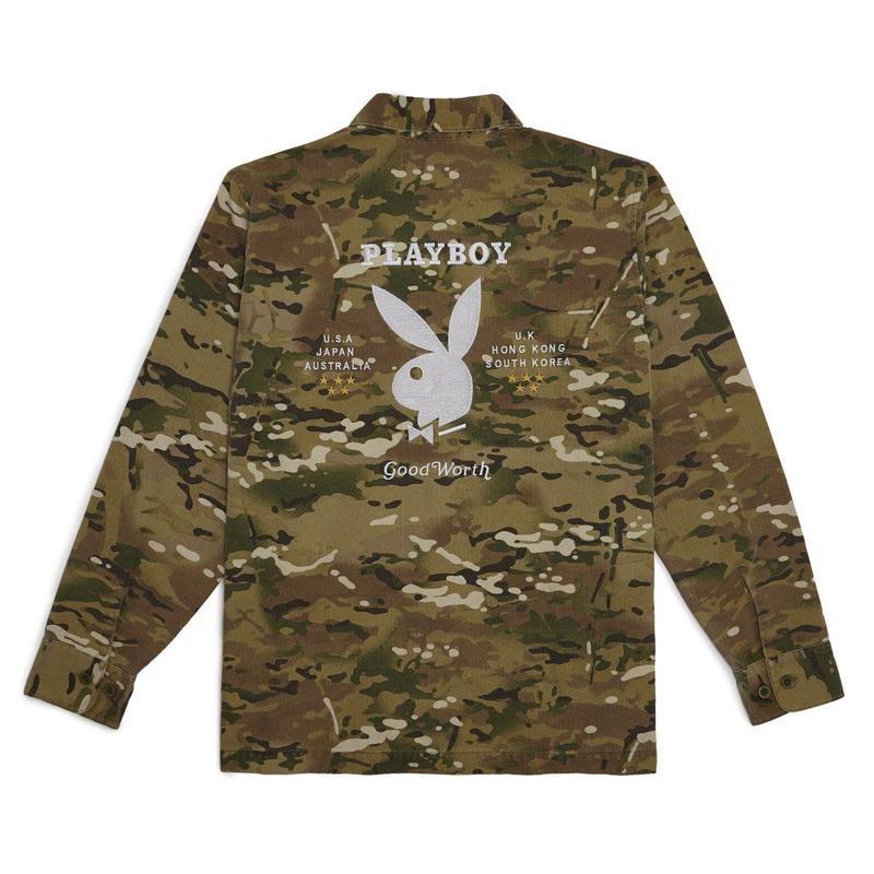 GW X PB BDU Souvenir Jacket - Camo