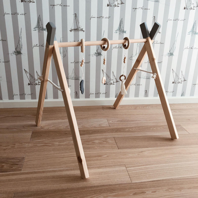 baby wooden gym