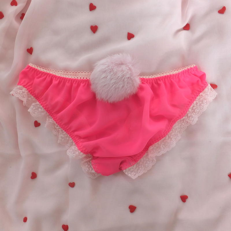 Holiday pantie-HOT PINK