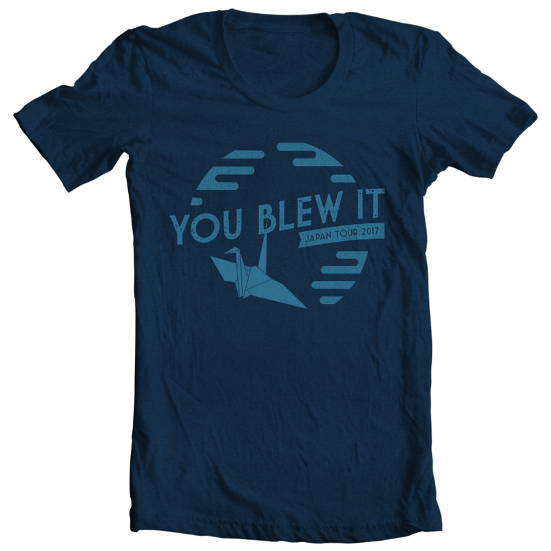 You Blew It Japan Tour 2017 | Tee Shirt