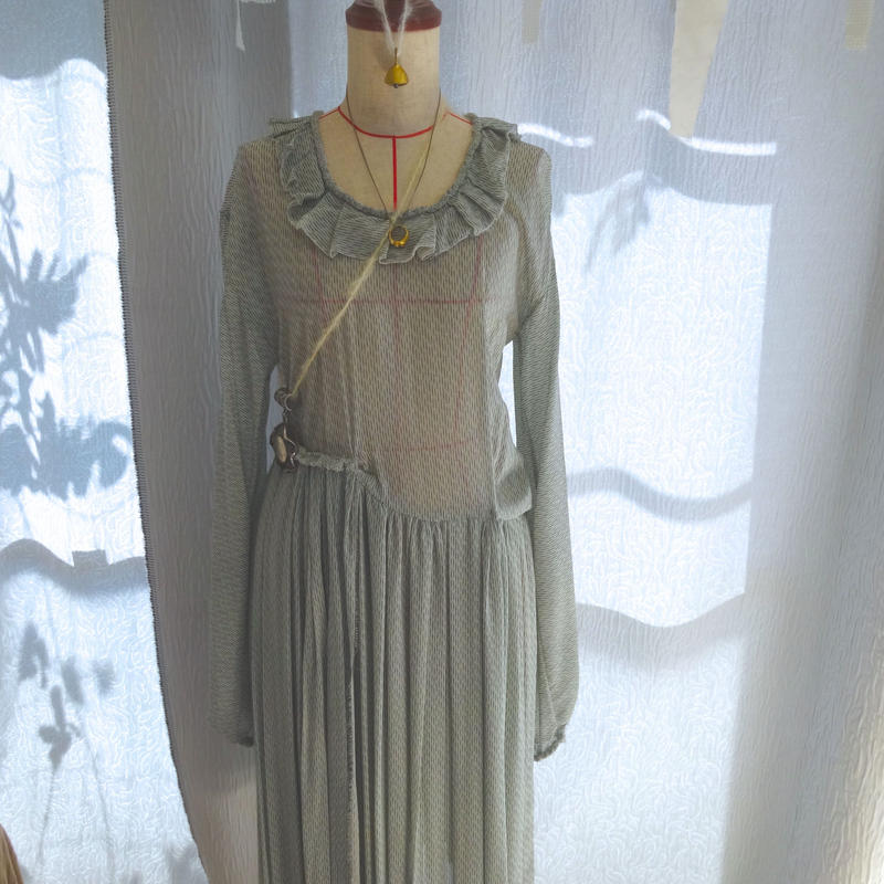 Leaf and Sward Dress
