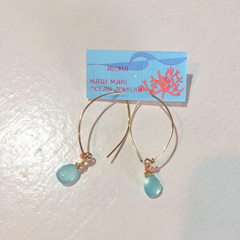 mauimarioceanjewelry E wire S(m825)