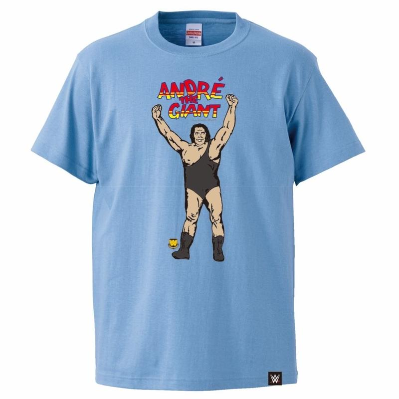 [WWE LEGEND]アンドレ・ザ・ジャイアントTシャツ(サックス)