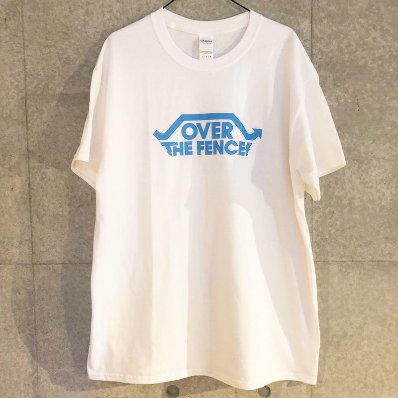 OVER THE FENCE Tシャツ(white)
