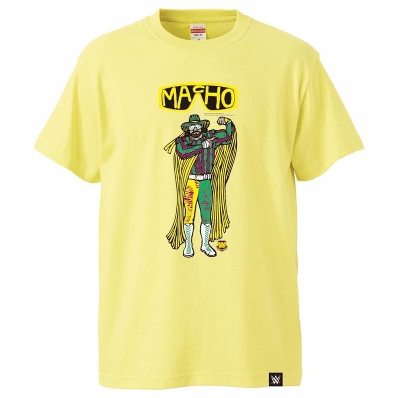 [WWE LEGEND]ランディ・サベージTシャツ(ライトイエロー)