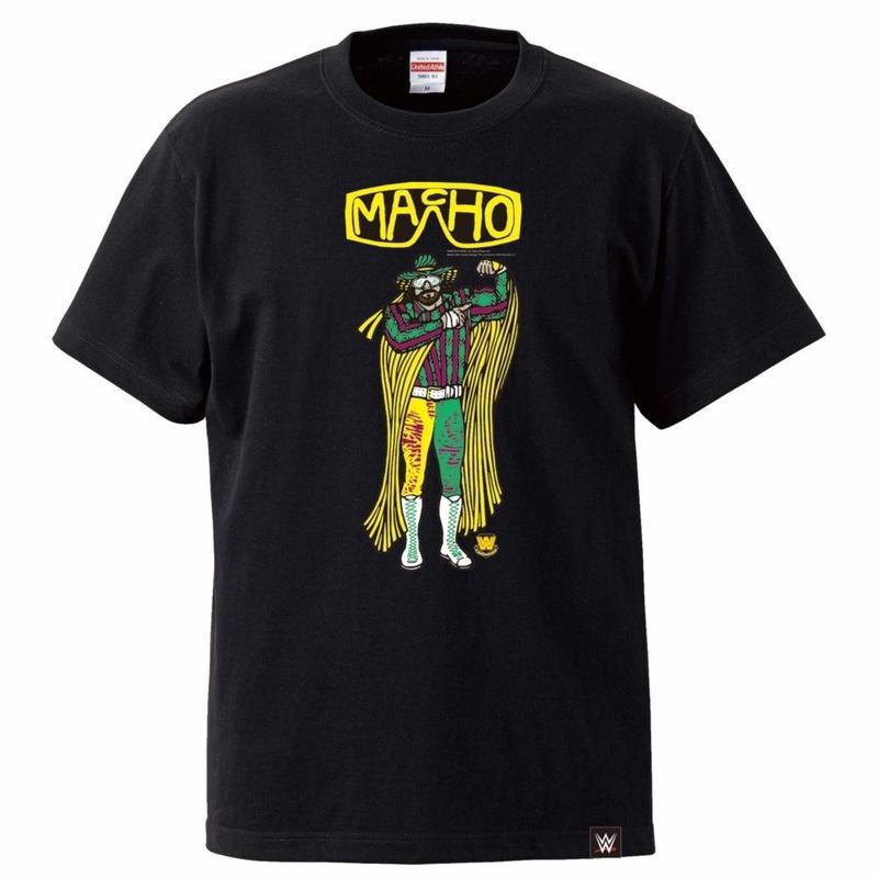 [WWE LEGEND]ランディ・サベージTシャツ(黒)