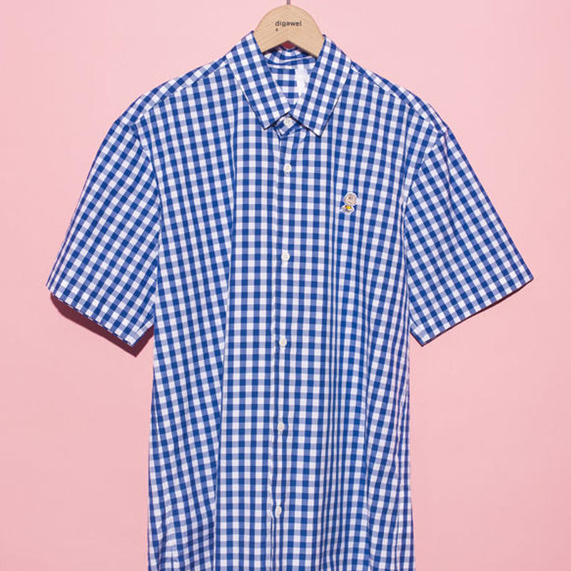 【THE CHUMS OF CHANCE】GINGHAM S/S SHIRT①