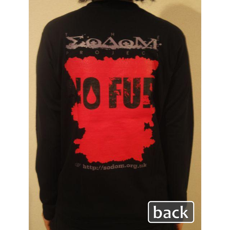 The Sodom Project T-Shirts (Long Sleeve, Red x Black)