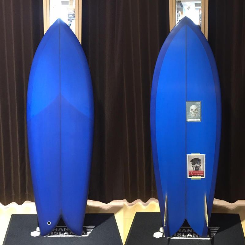 "【CHRIS CHRISTENSON】FISH 5'6"" ON FIN"