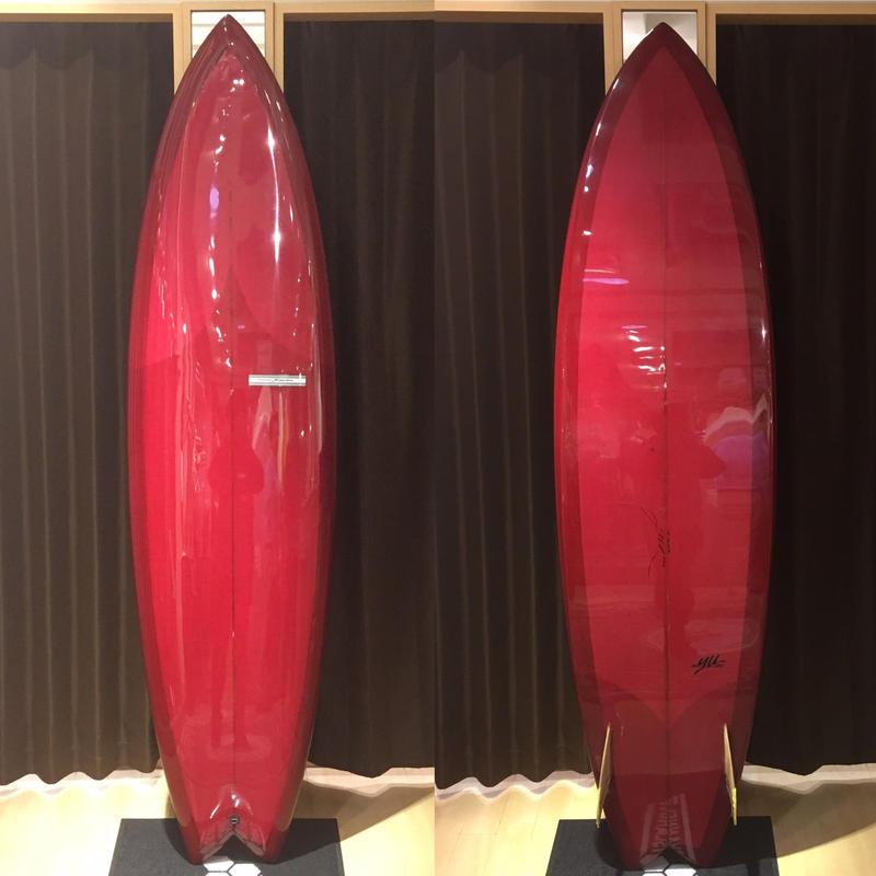 """【Y,U SURF CLASSIC】TWIN 7'2"""""""