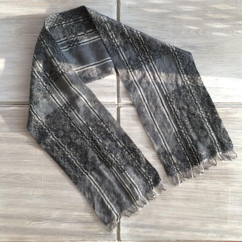 wool stole/1510-A(1点物)