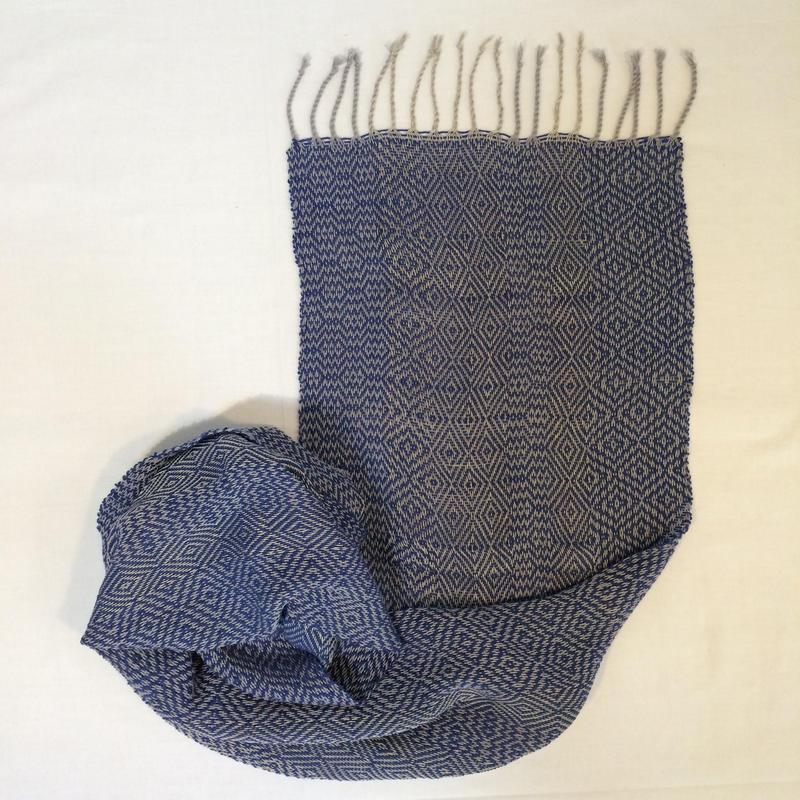 cotton/linen stole(1505-H)