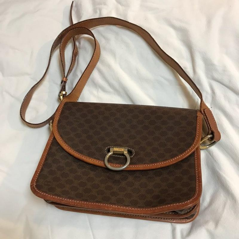 vintage celine shoulder bag #2