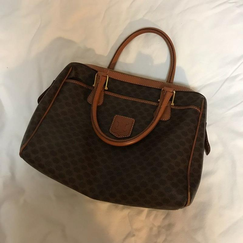 vintage celine boston bag