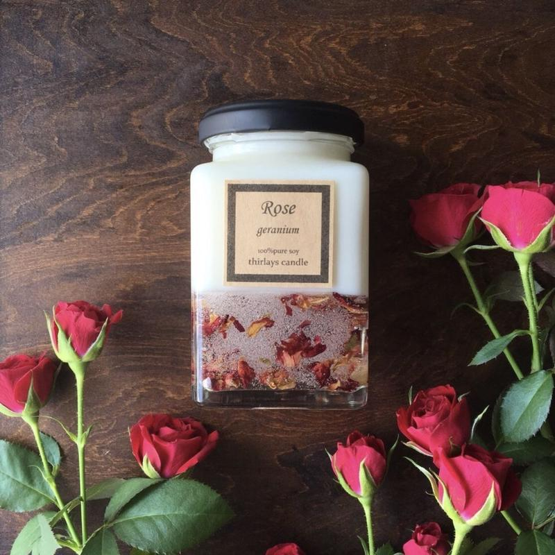 薔薇の時間 natural soy candle