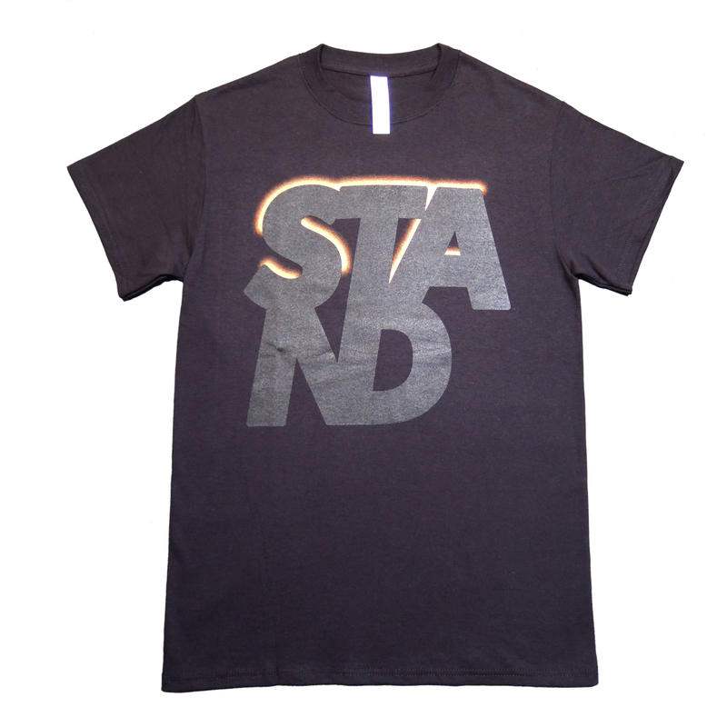 STAND_Tshirt BLK/ S
