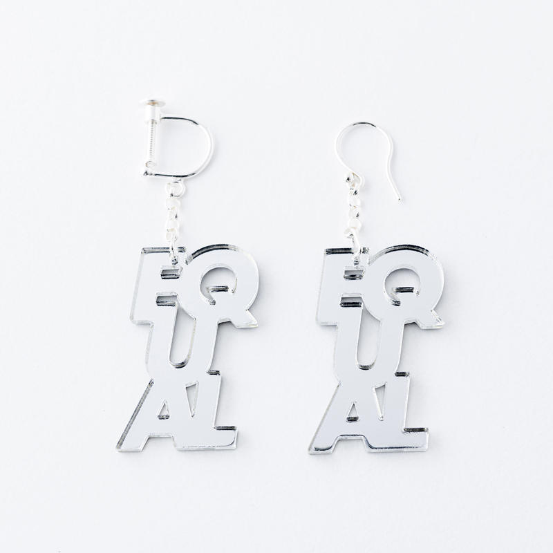 EQUAL_earring or pierce(ミラー)