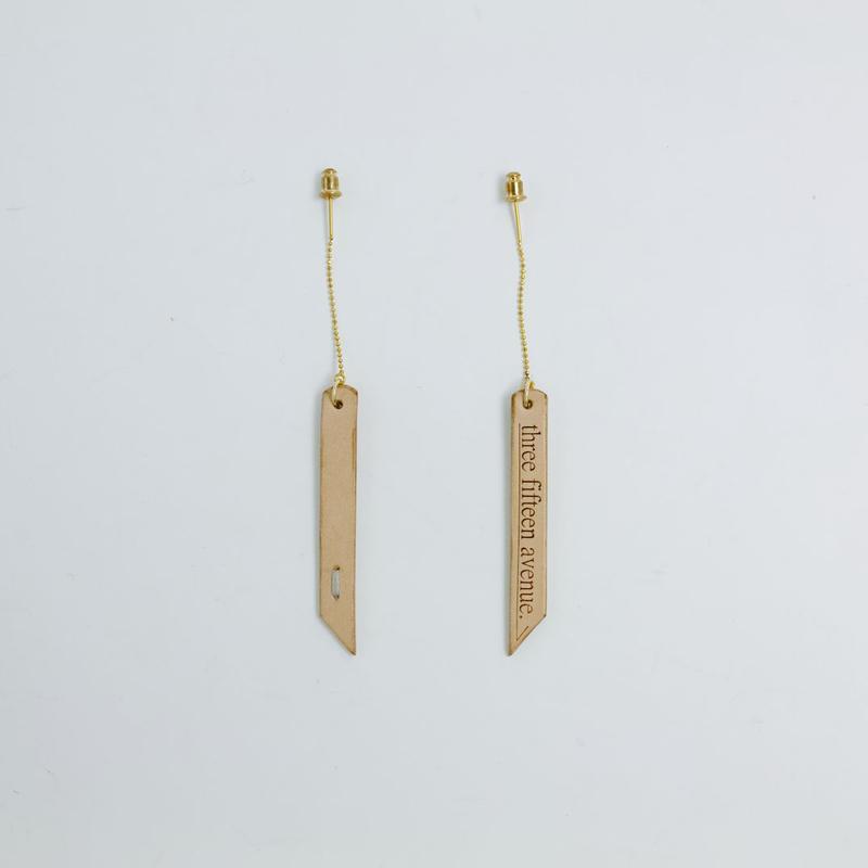 three fifteen american earrings