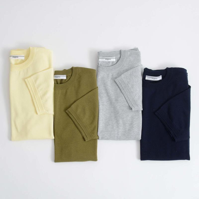 FUJITO / C/N Knit T-Shirt