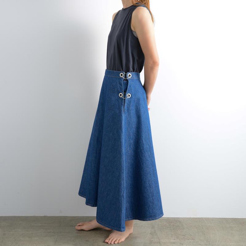 WESTOVERALLS / Denim ring skirt