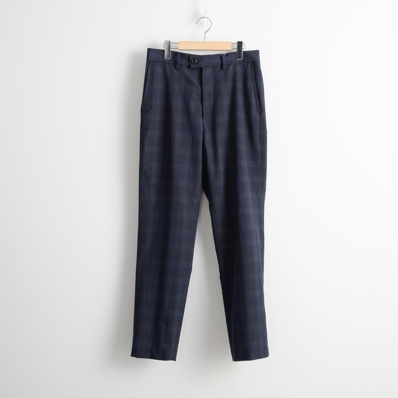 ALLEGE HOMME / W/L check zip pants