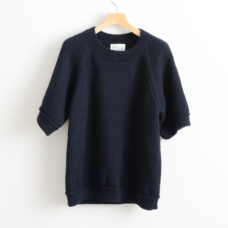 ALLEGE HOME / Law gauge s/s knit