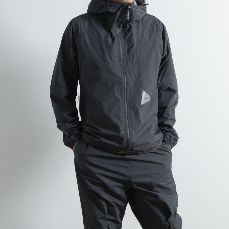 and wander / 3L light rain jacket