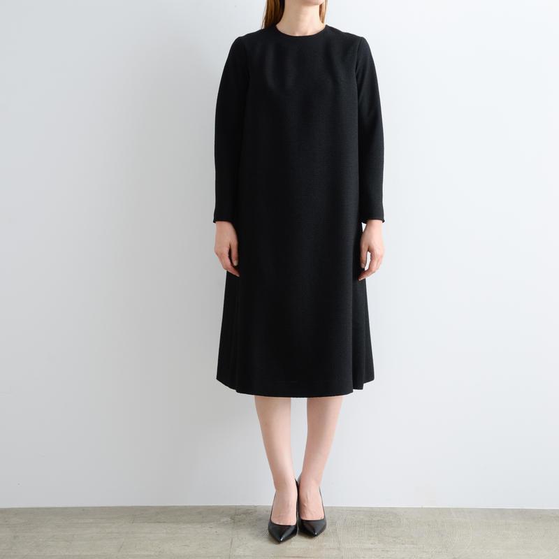 nooy / ブラックテントドレス