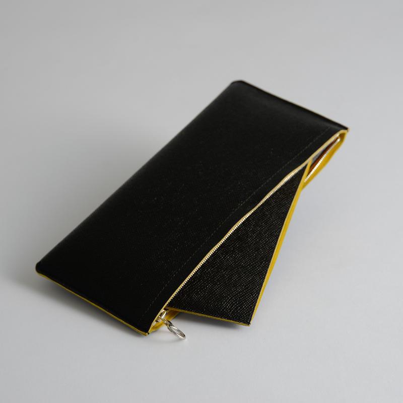 Aeta / Bicolor big long wallet