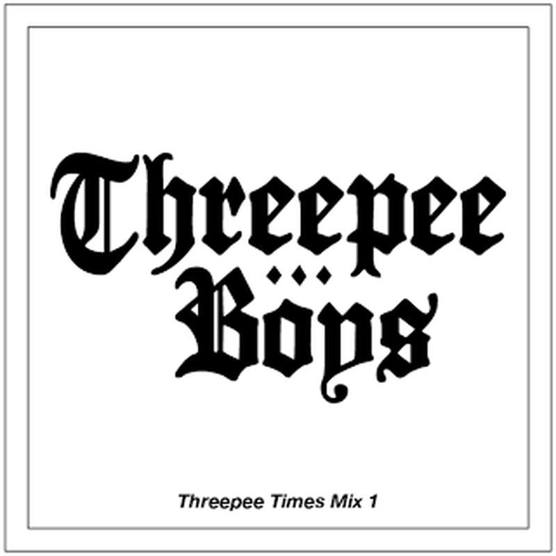 Threepee Boys - THREEPEE TIMES MIX 1 [Mix CD]