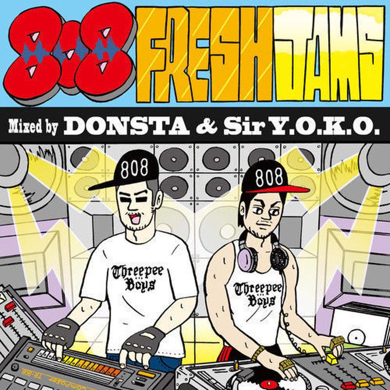 DONSTA & Sir Y.O.K.O. / 808 Fresh Jams [MIX CD]