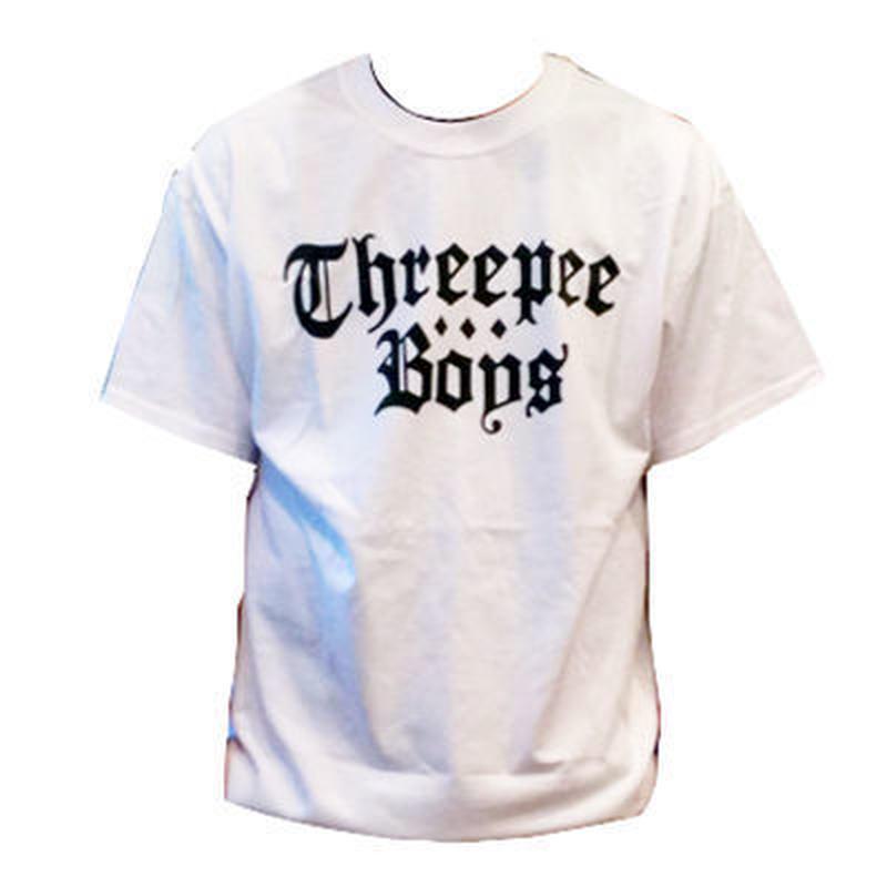 Threepee Boys LOGO T-SHIRTS (WHITE)