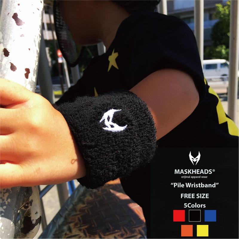 Pile Wristband/パイルリストバンド