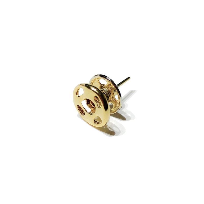 スナップボタン(S)ピアス /ゴールドコーティング
