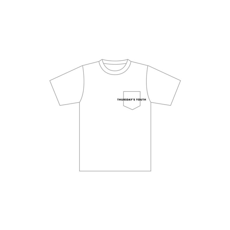 logo pocket T-shirt White