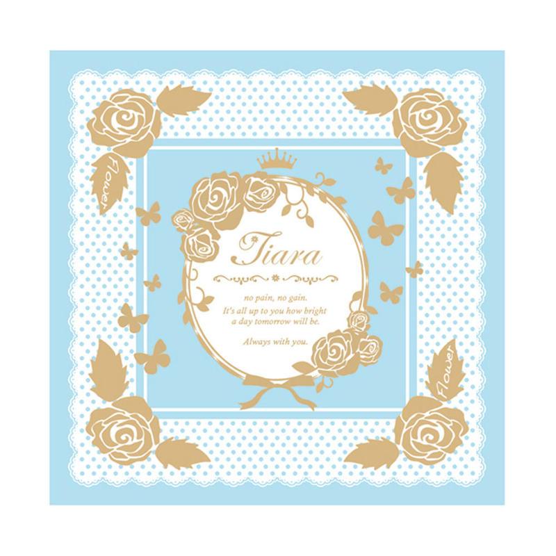 Tiara Spring Tourハンカチ(BLUE)