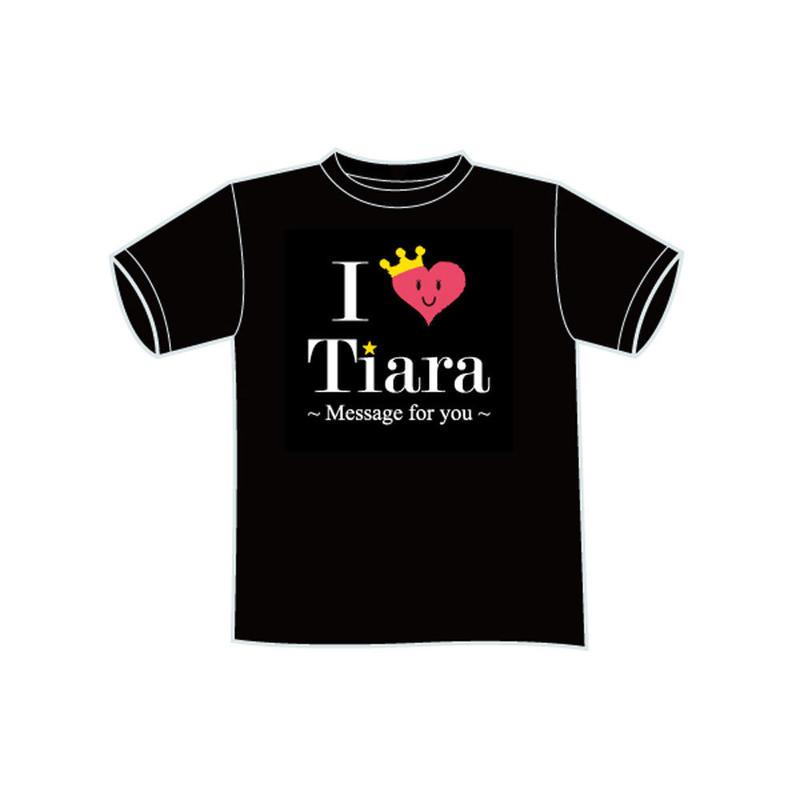I ♡ Tiara Tシャツ(BLACK)