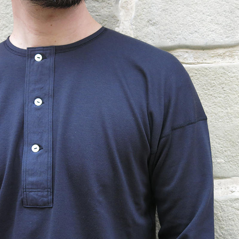 OLDE HOMESTEADER / HENLY NECK LONG SLEEVE /OLDE WORKER'S BLACK