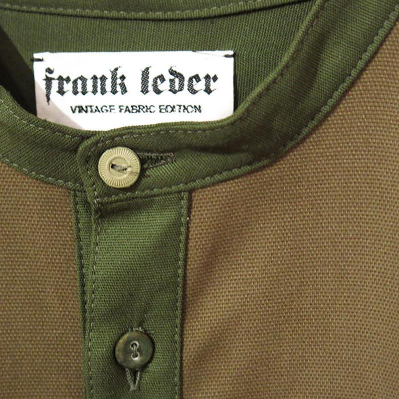 FRANK LEDER / VINTAGE FABRIC EDITION / PULL OVER SHIRTS