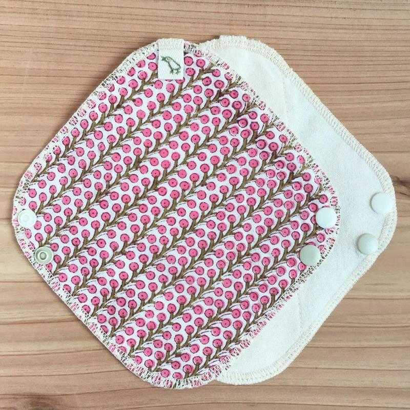 OCネル・柄布ライナー|ピンクの実(インド綿)