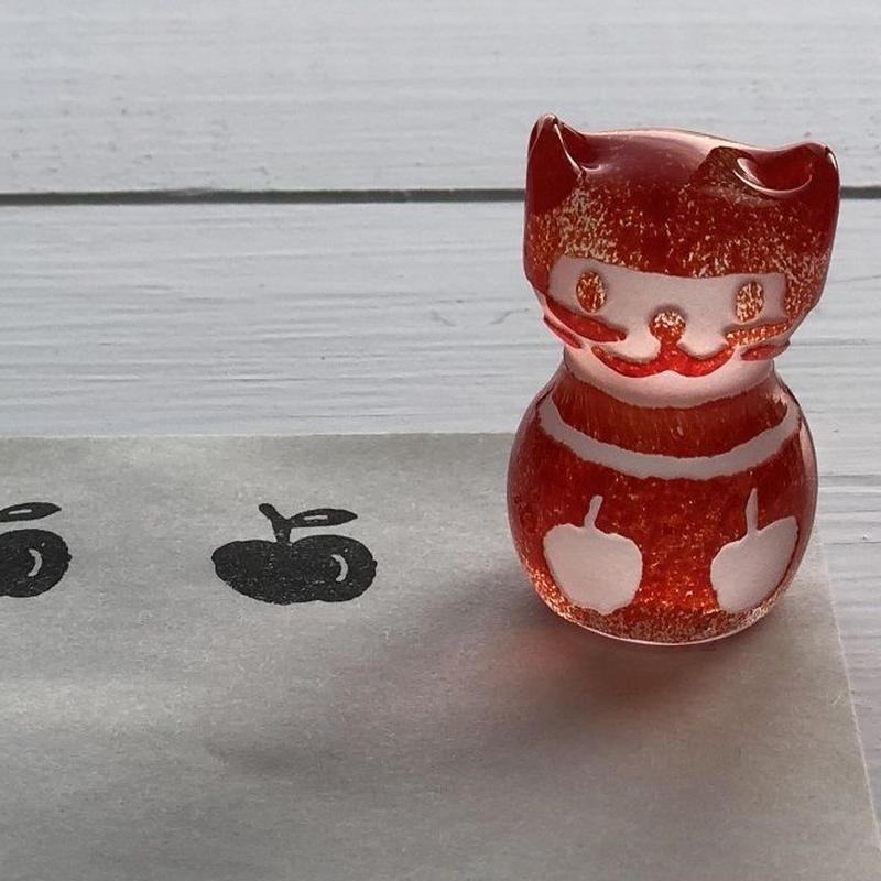 猫ハンコ(2Appleちゃん)