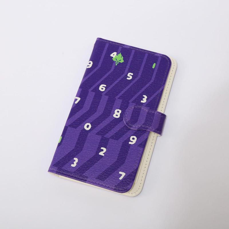 EVANGELION Android Diary Case (textile design by SOU・SOU) 初号機