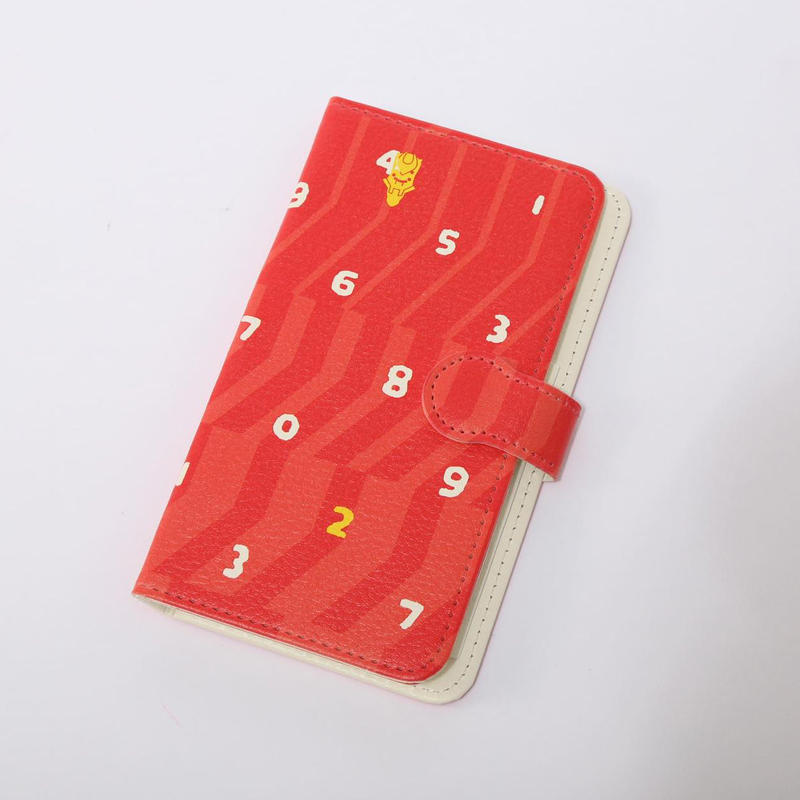EVANGELION Android Diary Case (textile design by SOU・SOU) 弐号機