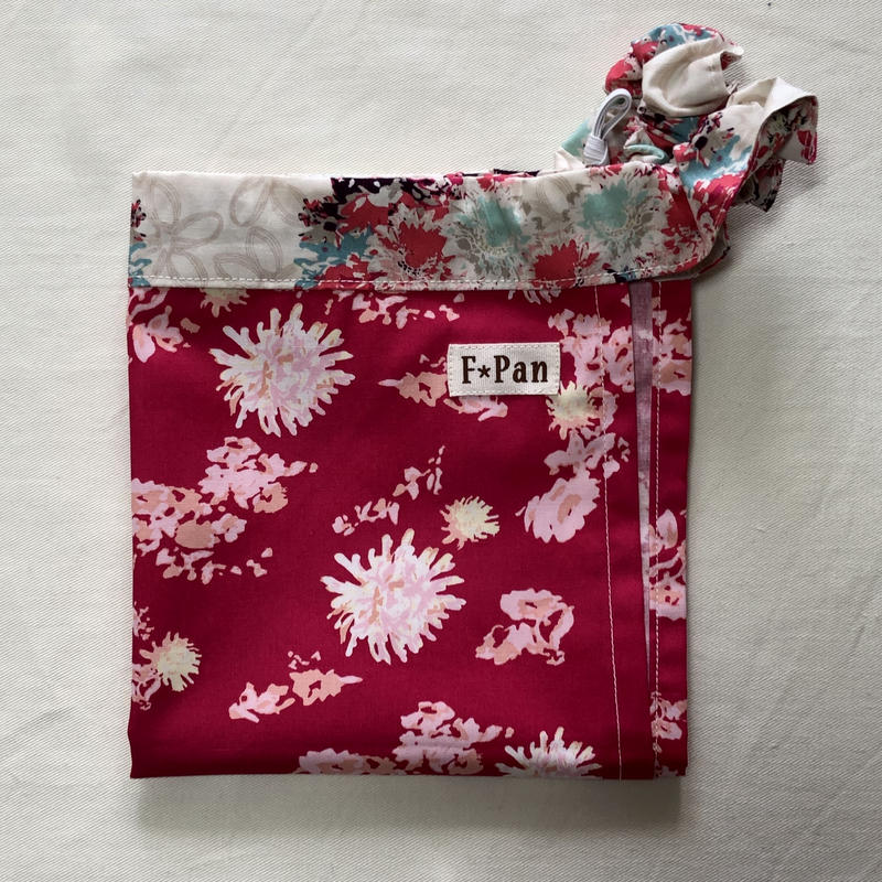 ふんどしパンツ【F☆pan】フリーサイズ 花赤(felida fabrics)