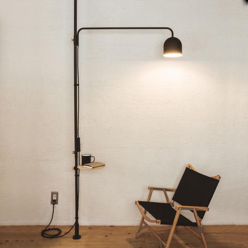 009  Lamp C - Black