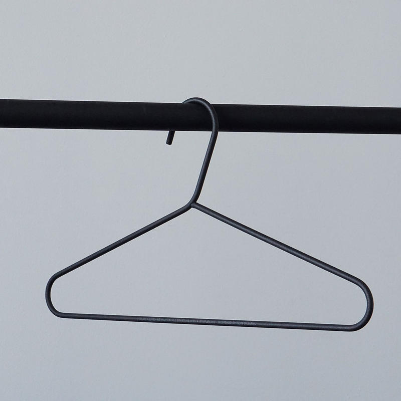016  Clothes Hanger - Black